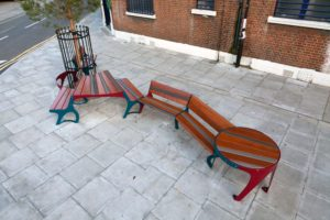 Bench to Bench in Hackney Wick - Martino Gamper