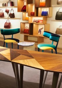 anya hindmarch table in harrods